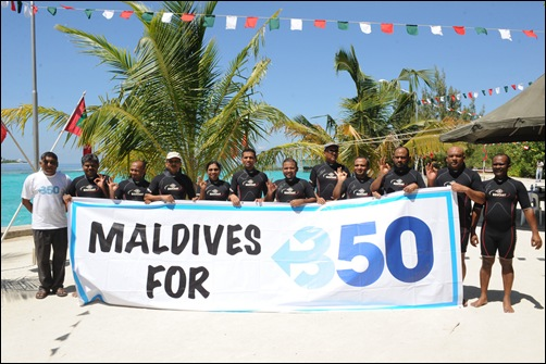 350 org maldives